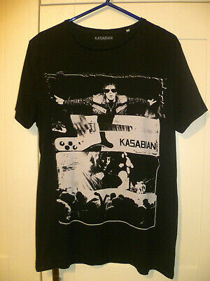 Kasabian - 2013 Vintage  Tom & Sergio  Black T-shirt (medium)  • 7.99£