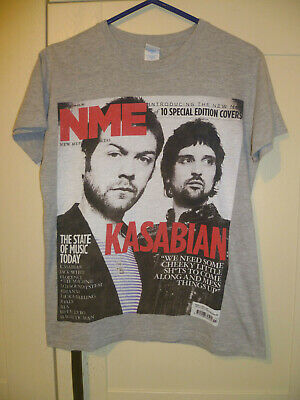 Kasabian - Vintage  Tom & Sergio Nme Cover 2010  Light Grey T-shirt (s)  • 7.99£