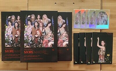 Kpop TWICE Official More & And More Album A Version (Choose CD And Most Card)  • 8.50£
