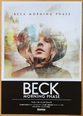 Beck Morning Phase Japan Flyer Rare Import • 5£