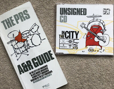 Muse - PRS Unsigned In The City CD And A&R Guide 1998 • 0.99£