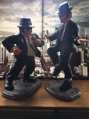 Like New 25 & 22  Blues Brothers Figures-statues With Boxes READ MORE P&P OPTION • 225£