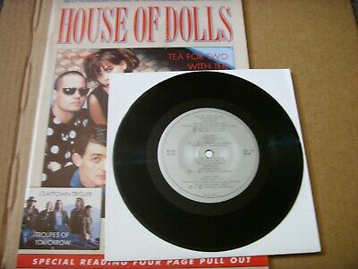 The Sugarcubes - House Of Dolls Magazine With Free Single Bjork • 18£