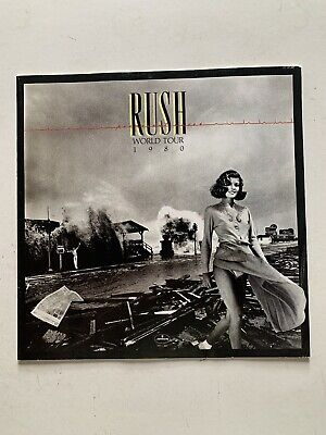 Rush 1980 World Tour Official Original Programme Great Condition • 9.99£