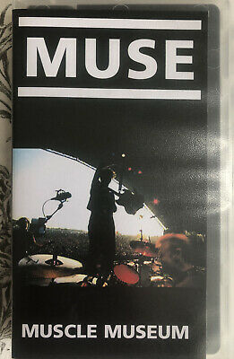 Muse Muscle Museum Promo Video VHS Tape Exc Condition • 29.99£