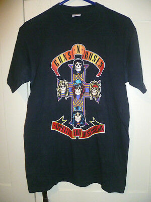 Guns N' Roses - 2004 Vintage  Appetite For Destruction  Black T-shirt (s)   • 7.99£