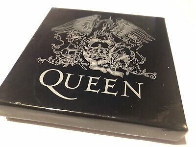 Queen Official Queen Set Of 4 Limuted Edition Coasters Rare • 18.50£
