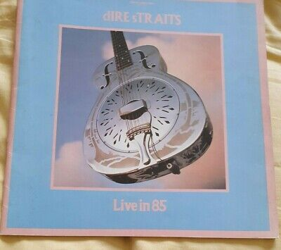 Dire Straits~ Live In 85 ~ Presented By Philips Compact Disc • 9£