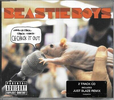 Beastie Boys Ch-check It Out Cd Single • 0.99£