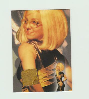 Britney Spears Authentic Piece Of Worn Clothing Swatch Trading Card - Rare • 29.99£