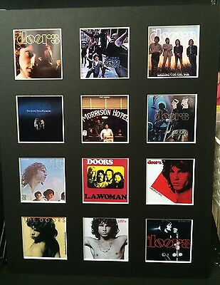 The Doors 14  By 11  Lp Covers Picture Mounted Ready To Frame • 15.99£
