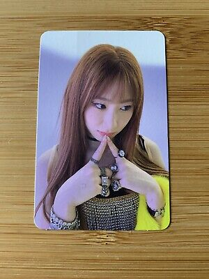 Kpop Itzy Official Chaeryeong Not Shy Photo Card • 7.95£