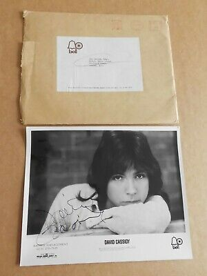 David Cassidy 1971 US Bell Records/Agency Promo Photo 10 X 8 Photo(Hand Signed)  • 100£