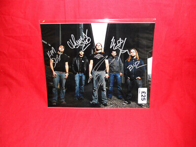 SALE Metal/Rock  Unearth  Multi Signed 10x8 Photo MR26 • 24.99£
