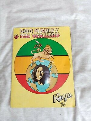 Original Bob Marley And The Wailers 1978 Kaya Tour Programme   • 50£