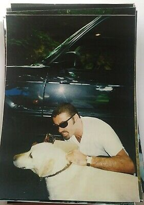 George Michael Photos RARE Images ANOTHER WORD IN HIPPYS EAR 1996 • 3.99£