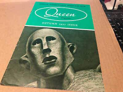 Queen Autumn 1977 Rare Original Fanclub Magazine  • 18£