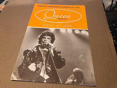 Queen Spring 1978 Rare Original Fanclub Magazine Excellent • 14.50£