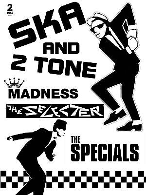 Ska And Two Tone 16  X 12  Photo Repro Promo Poster • 5.50£
