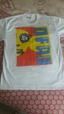New Fast Automatic Daffodils Large T Shirt In Excellent Condition See Pictures  • 12.50£