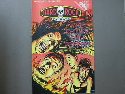 Red Hot Chili Peppers Comic Hard Rock Comics 1992 First Printing ! • 5.18£