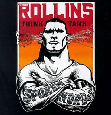 Rollins, Henry : Think Tank: Spoken Word CD Incredible Value And Free Shipping! • 4.99£