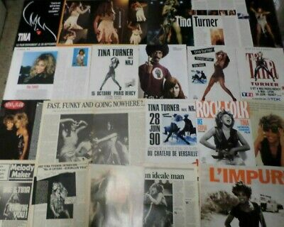 Tina Turner Poster Massive Pack Cuttings Clippings Berichte Magazine • 12.99£