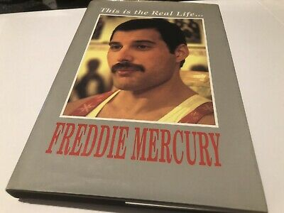 Queen Fredie Mercury This Is The Real Life Hardback Book  • 42£
