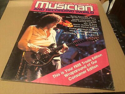Queen Musician Magazine May 1984 Queen On Cover + 4 Pages Inside • 8£