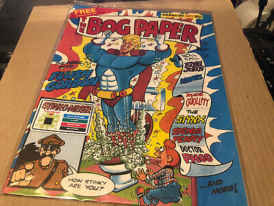Queen Related The Bog Paper Rare Comic Issue 1 Flash Gordon Cross • 32.50£