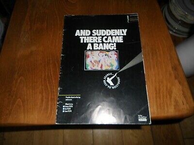 Frankie Goes To Hollywood And Suddenly There Came A Bang! Book Vintage • 14.99£