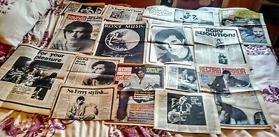 Bryan Ferry /Roxy Music Cuttings Posters Book • 4.50£