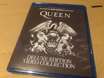 Queen Delux Edition Video Collection Very Rare Blu Ray Limited • 17£