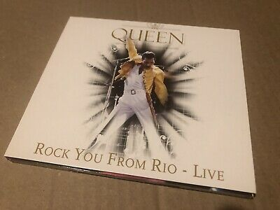 Queen Rock From Rio Live Rare Cd  Live In Concert 1985 Limited • 5£