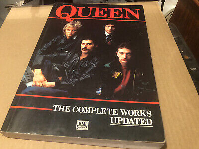 Queen The Complete Works Song/sheet Music Book Over 300 Pages • 0.99£
