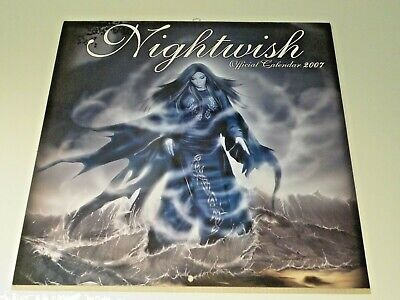 Nightwish 2007 Official Calendar (Pyramid Posters) Once Oceanborn Wishmaster • 14.99£