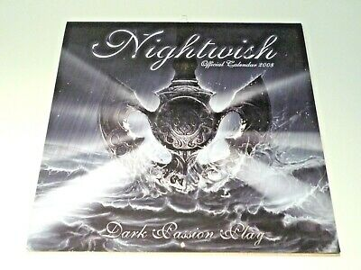 Nightwish Dark Passion Play 2008 Official Calendar (Pyramid Posters) • 14.99£