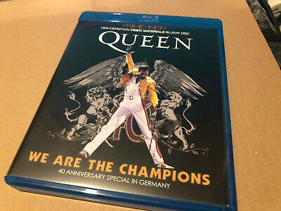 Queen We Are The Champions 40th Anniversary Blu Ray Japanese Jewels Ntsc • 14.50£