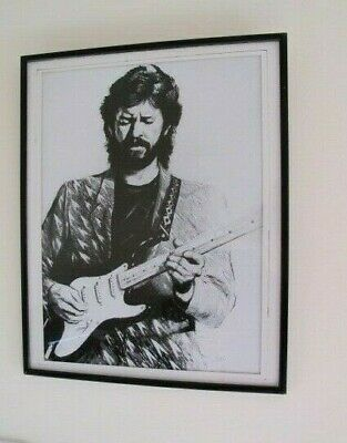 ERIC CLAPTON 1988  CROSSROADS  25 Years Lithograph Print By Ronnie Wood  • 500£