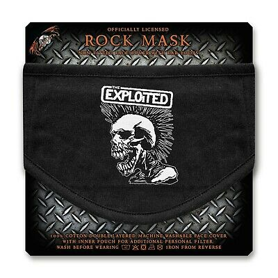 The Exploited Face Mask (rz)   • 9.99£
