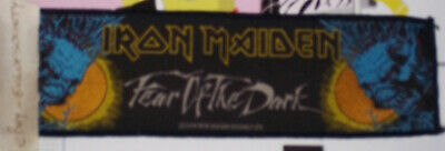 Iron Maiden, Fear Of The Dark, Strip Patch, Sew On, Rock, 2004, Official, Used • 6£