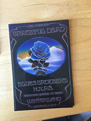 Grateful Dead Closing Of Winterland Postcard- Unused - Very Good Condition • 25.93£