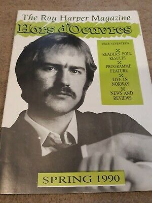 Roy Harper Hors D'oeuvres Magazine, Issue 17, 1990, 24 Pages Very Good Condition • 2£