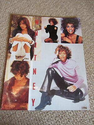 Whitney Houston -  World Tour Programme (LARGE SIZE) In Excellent Condition • 15£