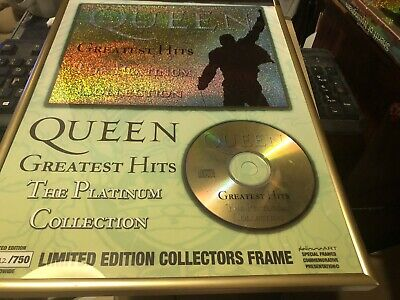 Queen Greatest The Platinum Collection Limited Numbered 112 Of 750 • 28.50£