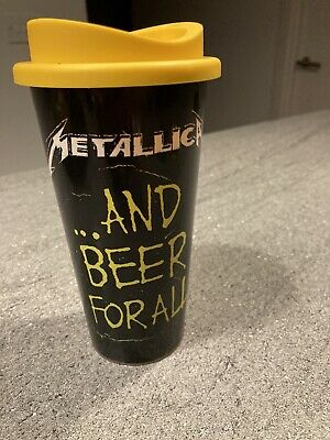 Metallica ....And Beer For All Cup 2019 Tour Scarce Justice LOOK • 10£