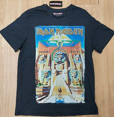 Official Iron Maiden Powerslave Black T-shirt Size Large New & Mint Condition • 14.99£
