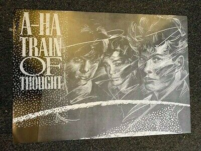 A-ha Train Of Thought Poster  • 15£