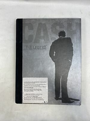 Johnny Cash The Legend Collectable Book  Limited Edition Numbered(5cd/dvd) Rare  • 44.99£