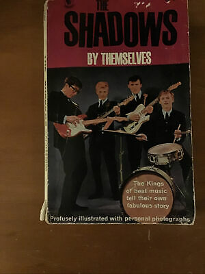 The Shadows By Themselves - First Great British Popular Music Band - Book. Rare • 13.50£